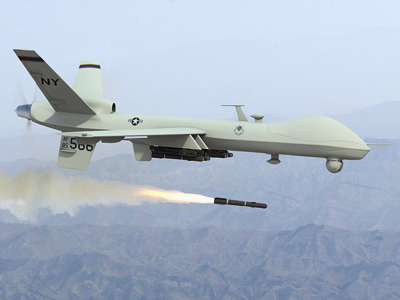 US fires 118 drone bombs, kills only two most wanted terrorists