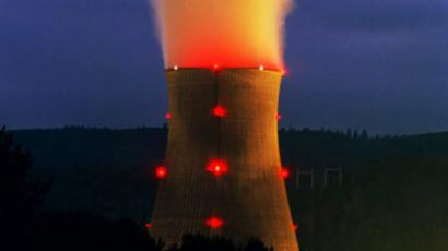 Trojan Nuclear Plant Cooling Tower, Oregon, Usa