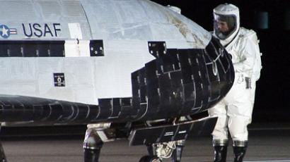 X-37B: Secret space plane 1 year on mystery mission