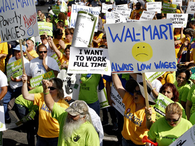Walmart workers ready to shut-down stores on Black Friday
