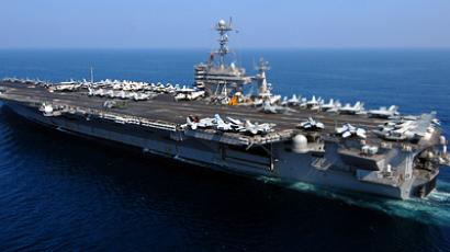 The Nimitz-class aircraft carrier USS John C. Stennis (AFP Photo / US Navy)