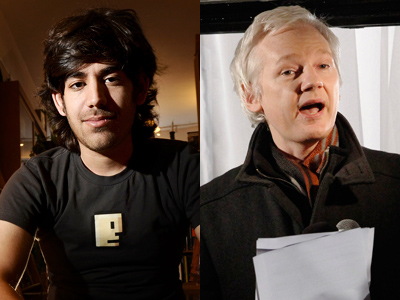 WikiLeaks reveals association with Aaron Swartz