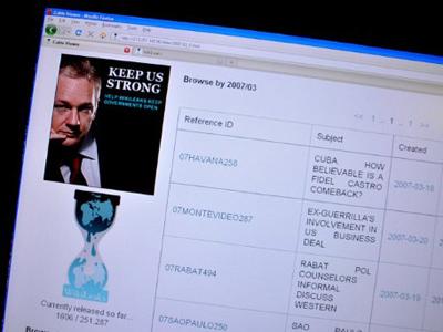 WikiLeaks hacked