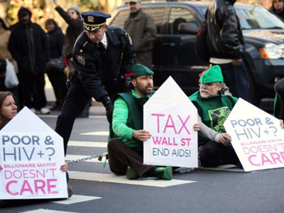 OWS park's owners cheat on taxes
