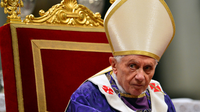 Pope Benedict XVI  (AFP Photo / Gabriel Bouys)