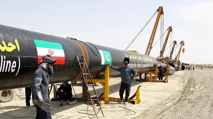 Iran Pakistan Syria Qatar Pipelineistan At Work Rt