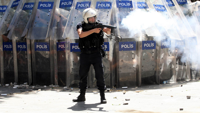 'Democratic and Islamic values clash in Turkey'