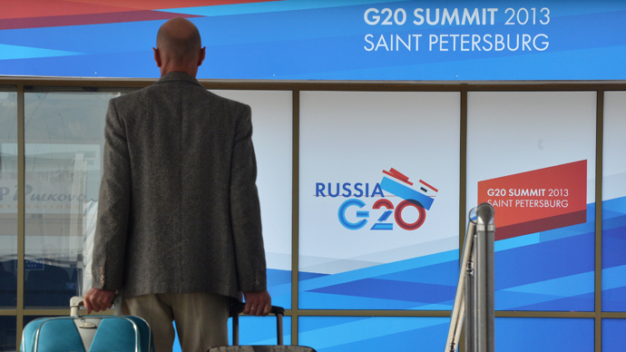 Russia treats G20 as process, not single event