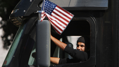 American truckers are putting Washington DC on notice