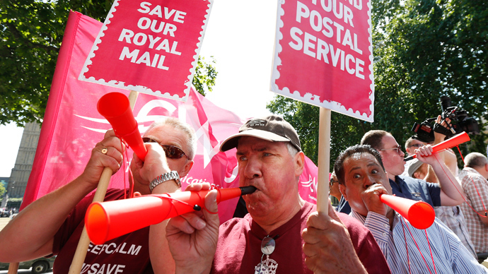 A right royal rip-off - What the Royal Mail privatisation tells us about modern Britain