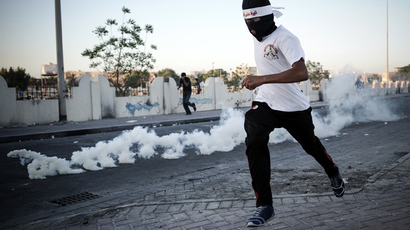 'Campaign of spiraling repression': Bahrain's massive tear gas shipment challenged by rights activists
