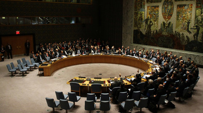 The United Nations Security Council (Joshua Lott/Getty Images/AFP)