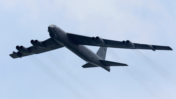 A Boeing B-52 Stratofortress strategic bomber from the United States Air Force (Reuters / Tim Chong)