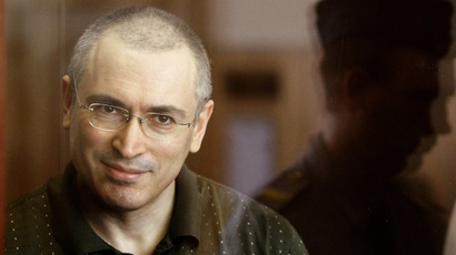 Former oil tycoon Mikhail Khodorkovsky (Reuters/Karpukhin)