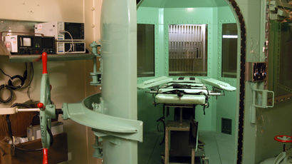 The death chamber at California's San Quentin State Prison is shown in this undated file photograph (Reuters / California Department of Corrections)