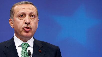 Turkey's Prime Minister Tayyip Erdogan.(Reuters / Francois Lenoir)