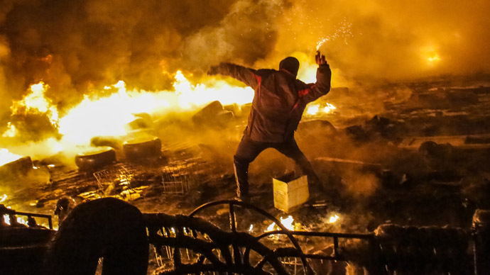 Ukrainian opposition 'doesn't want to be seen co-opted by government'