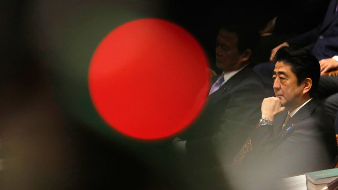 Japan's Prime Minister Shinzo Abe.(Reuters / Toru Hanai)