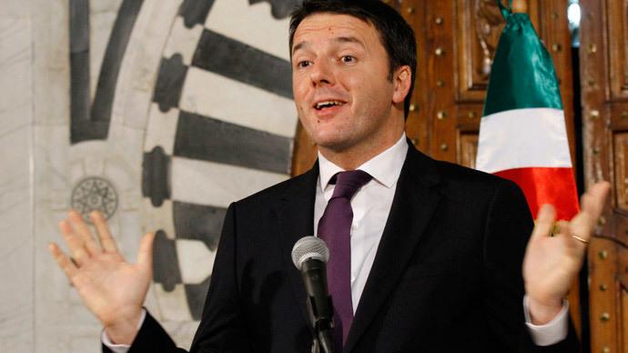 Italian Prime Minister Matteo Renzi.(Reuters / Anis Mili)