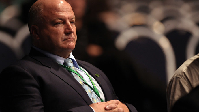 Bob Crow.(AFP Photo / Paul Ellis)