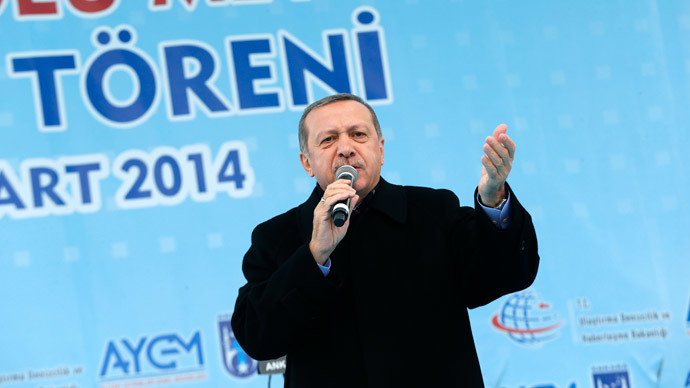 Turkey's Prime Minister Tayyip Erdogan.(Reuters / Umit Bektas)