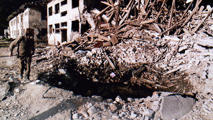 NATO bombing of Yugoslavia: Symbolic stage of current World War