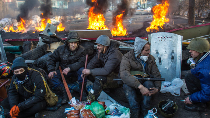 Kiev on 20 February, 2014 (RIA Novosti / Andrey Stenin)