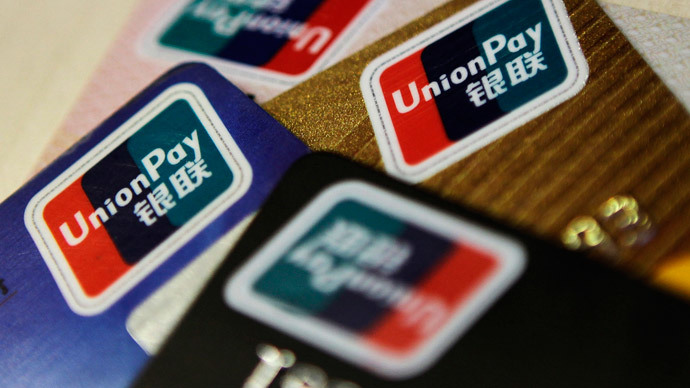'Russia should take a closer look at China's Union Pay'