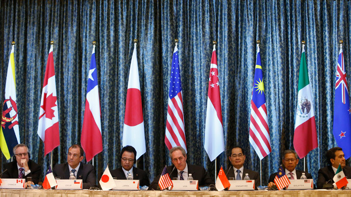 Trans-Pacific Partnership (TPP) Ministerial meeting in Singapore February  (Reuters / Edgar Su)