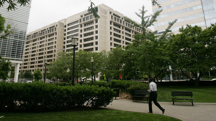 The International Monetary Fund (IMF) headquarters  in Washington, DC (AFP Photo)