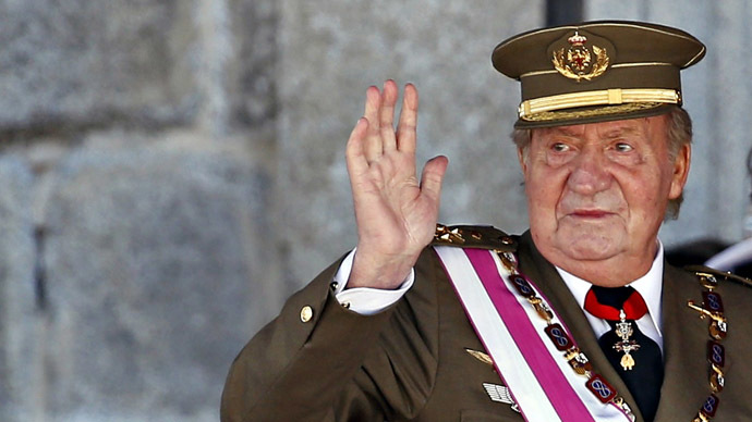 Spain's King Juan Carlos (Reuters/Sergio Perez)