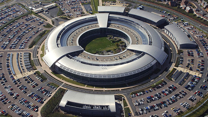 """The Doughnut"", the headquarters of the GCHQ (Image from wikipedia.org)"