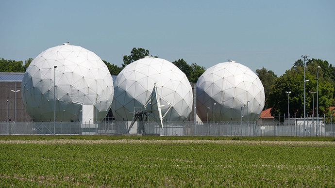 Radomes of the former monitoring base of the US intelligence organization National Security Agency (NSA) in Bad Aibling, southern Germany  (AFP Photo / Christof Stache)