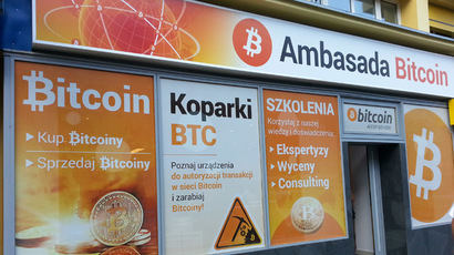 Bitcoin embassy in Warsaw. Photo by Patrick Young