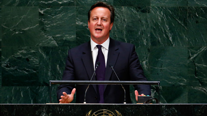 David Cameron: 'Non-Violence' responsible for ISIS