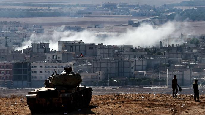 Turkish Army S Waiting Game The Siege Of Kobani Rt Op Edge border=