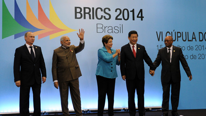 It's now total war against the BRICS