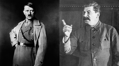 Adolf Hitler and Joseph Stalin (AFP Photo)