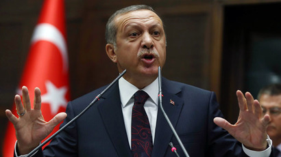 Turkey's Prime Minister Recep Tayyip Erdogan (AFP Photo)