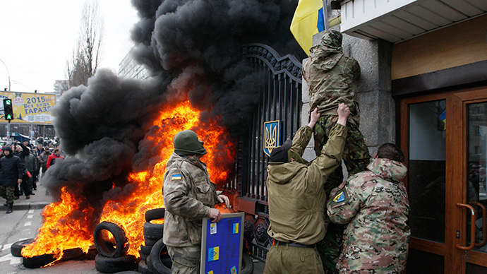 'Ukraine's economy in backwards drive, feeds tensions and discontent'