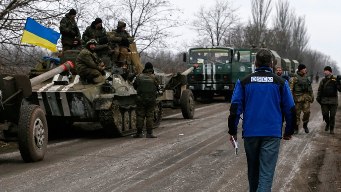 'The OSCE has very difficult task monitoring Minsk deal implementation'
