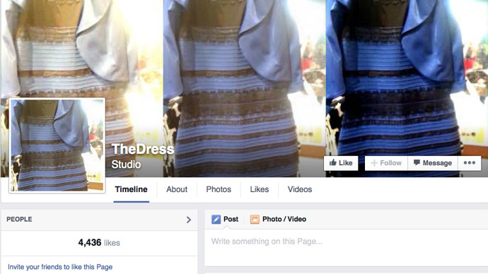 ​The world is on fire: Who cares! It's #TheDress color that matters