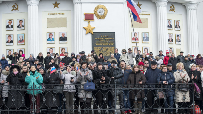 Crimea: one year on