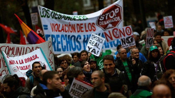Spain austerity protest: 'Things got worse than last year'