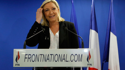 France's far-right National Front leader Marine Le Pen.(Reuters / Gonzalo Fuentes)