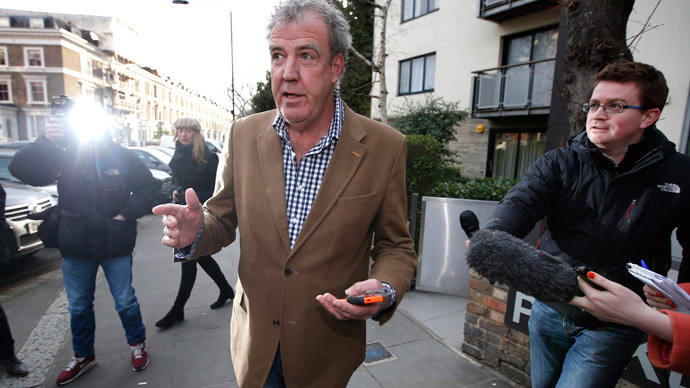 British television presenter Jeremy Clarkson.(Reuters / Peter Nicholls)