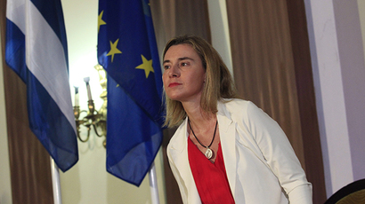 European Union High Representative for Foreign Affairs Federica Mogherini (Reuters / Stringer)