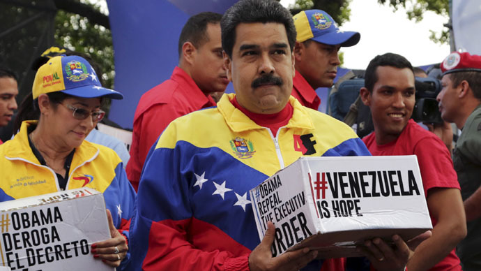 Obama should rescind sanctions against Venezuela