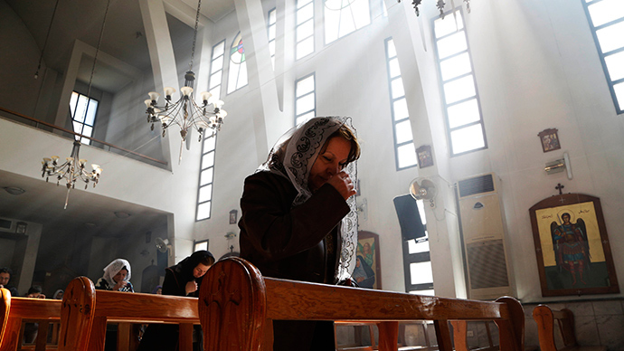 Ibrahim al-Khalil church in Jaramana, eastern Damascus (Reuters / Omar Sanadik)