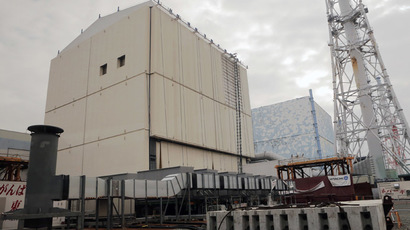 The unit No.1 (L) and No. 2 reactor building of the tsunami-crippled Fukushima Daiichi nuclear power plant (Reuters / Itsuo Inouye)